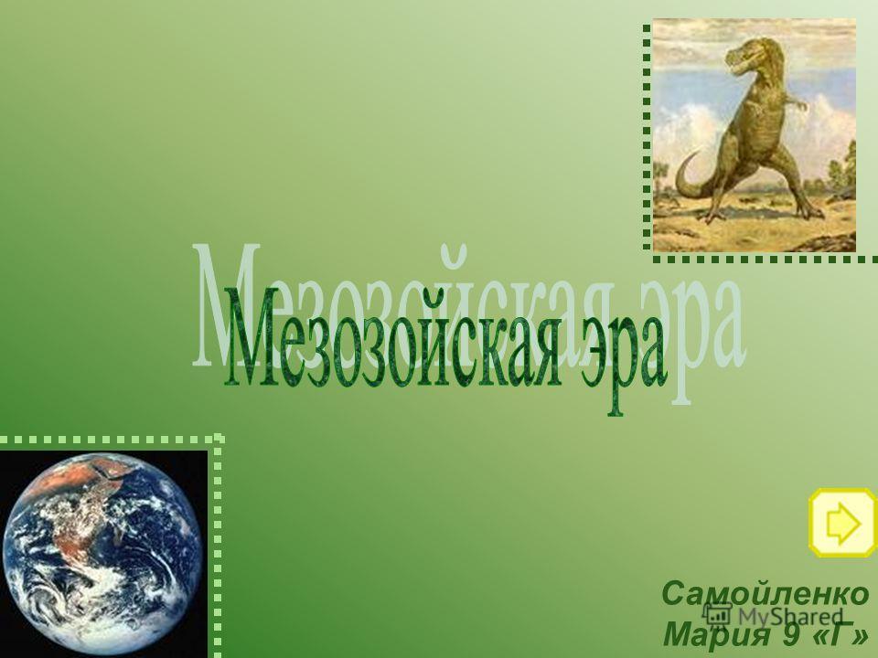 Самойленко Мария 9 «Г»