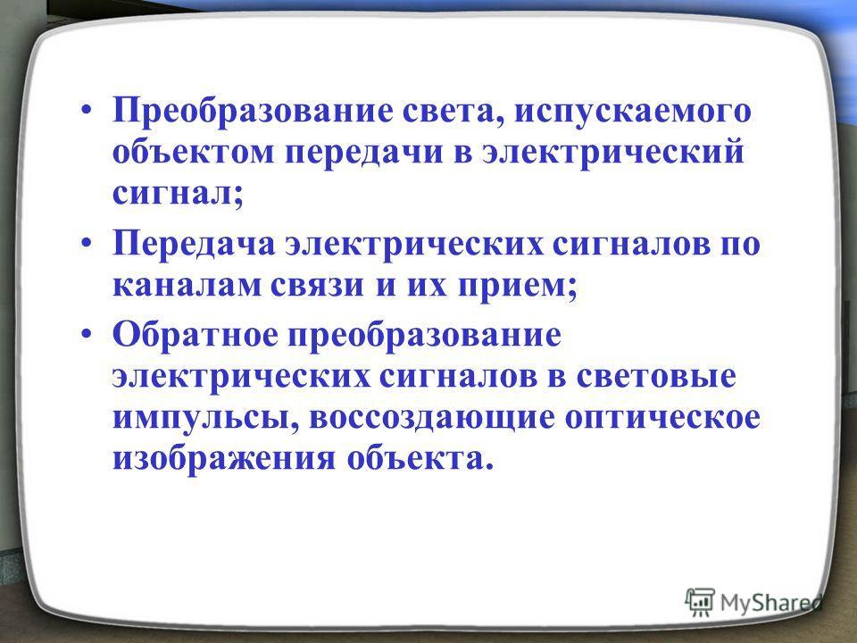 передача изображений: