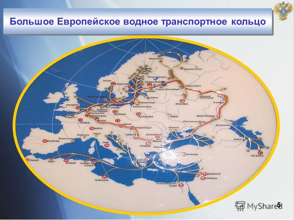 Большое Европейское водное транспортное кольцо 5
