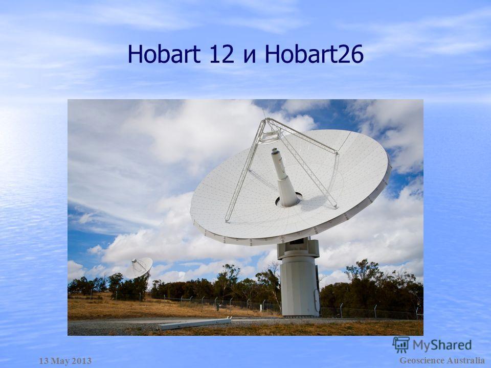 Geoscience Australia 13 May 2013 Hobart 12 и Hobart26