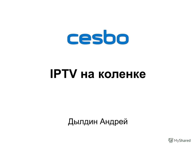 Дылдин Андрей IPTV на коленке