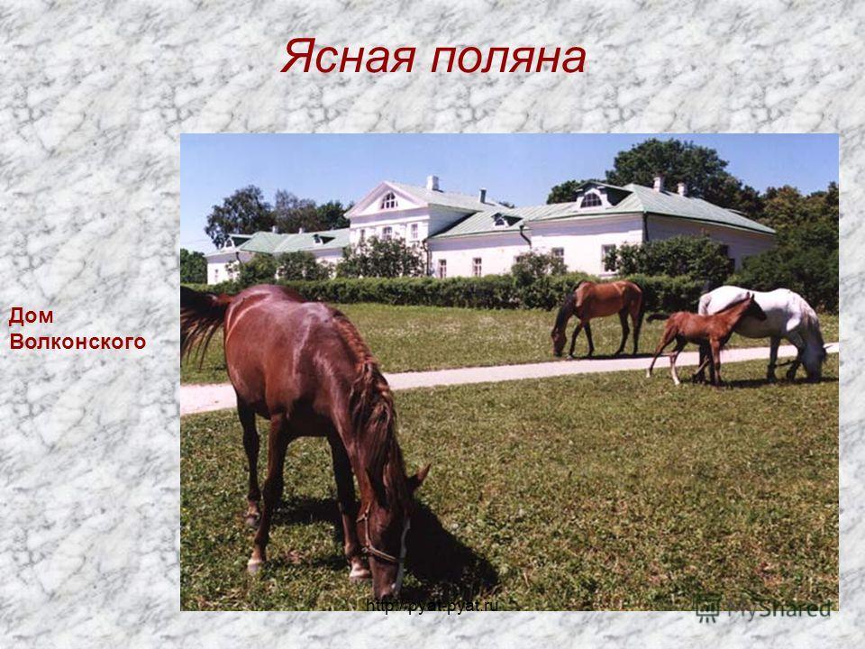 Ясная поляна Дом Волконского http://pyat-pyat.ru