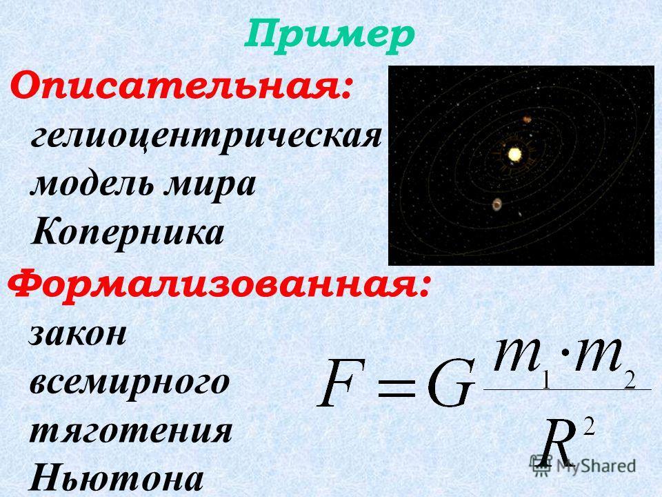 Для изучения объекта сначала строится его описательная информационная модель на естественном языке, затем она формализуется с помощью формальных языков (математики, логики и языков программирования).