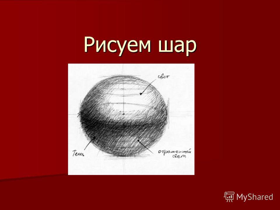 Рисуем шар 4класс
