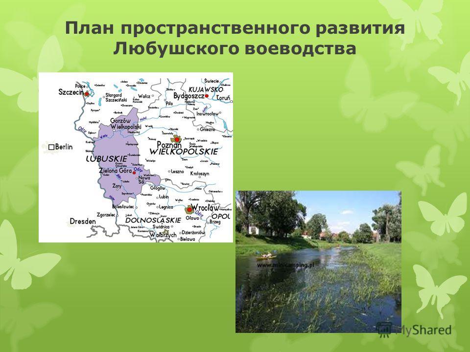 План пространственного развития Любушского воеводства