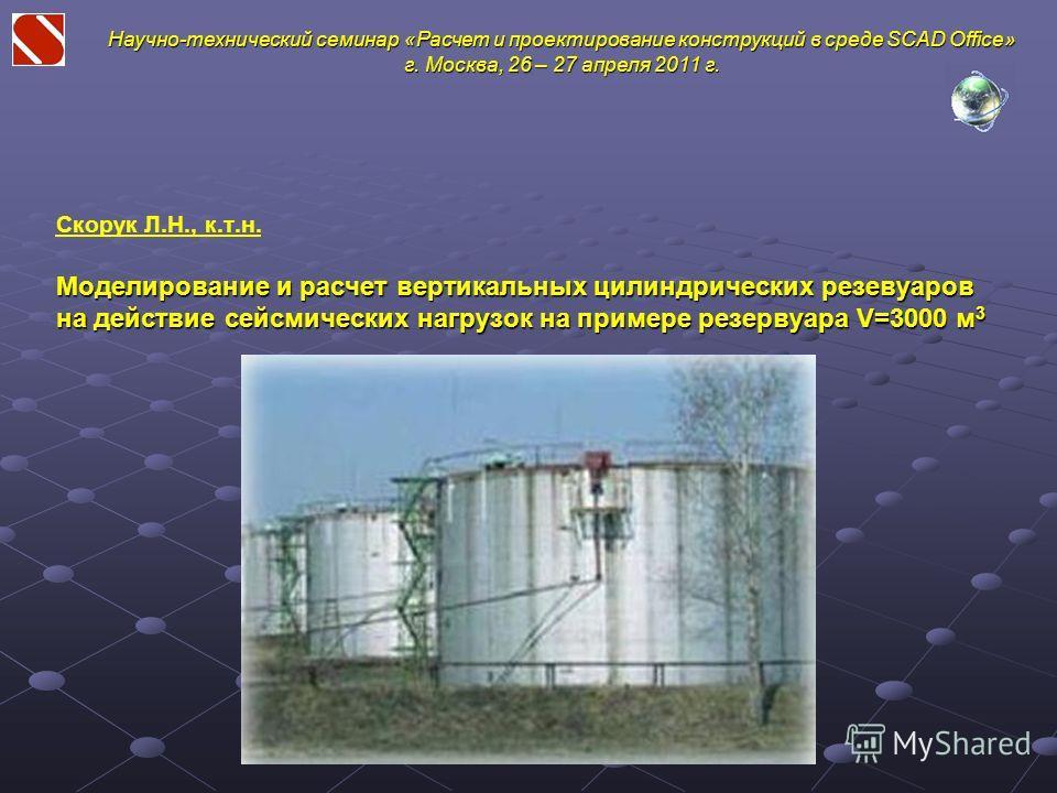Программа Расчета Резервуара