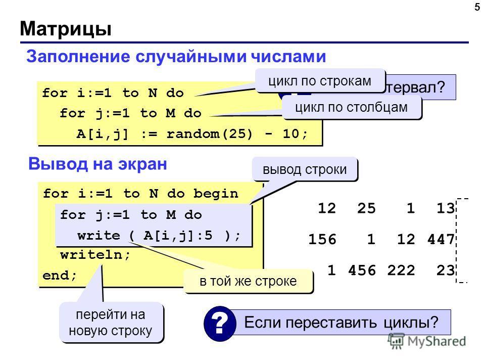 Эксперимент: собственные числа матрицы с