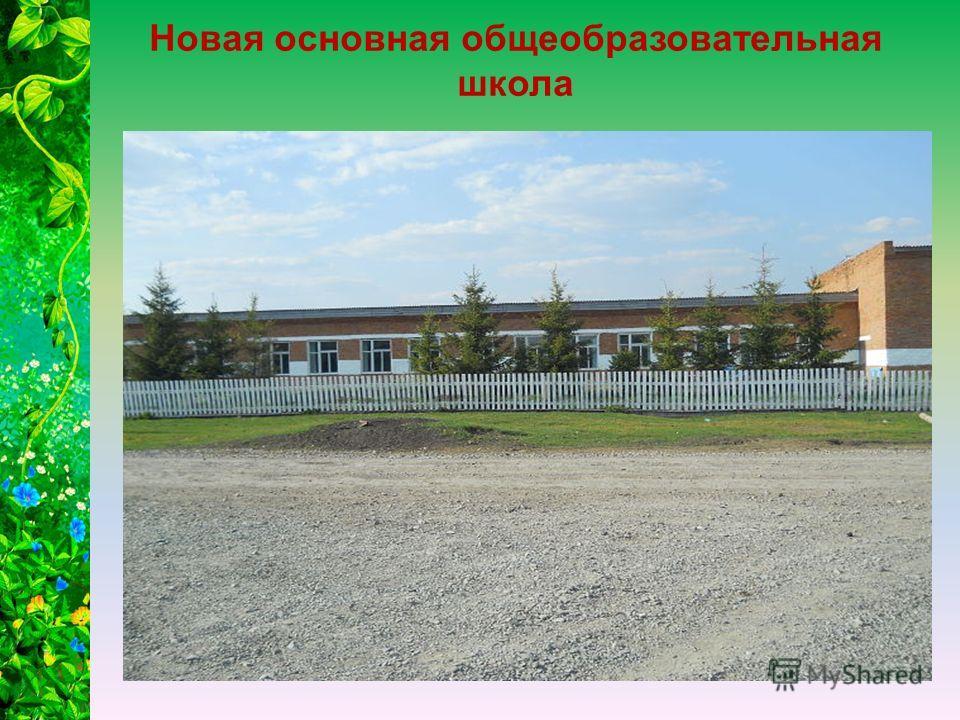 Новая основная общеобразовательная школа