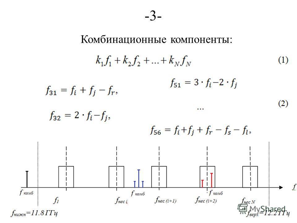 -3--3- Комбинационные компоненты: