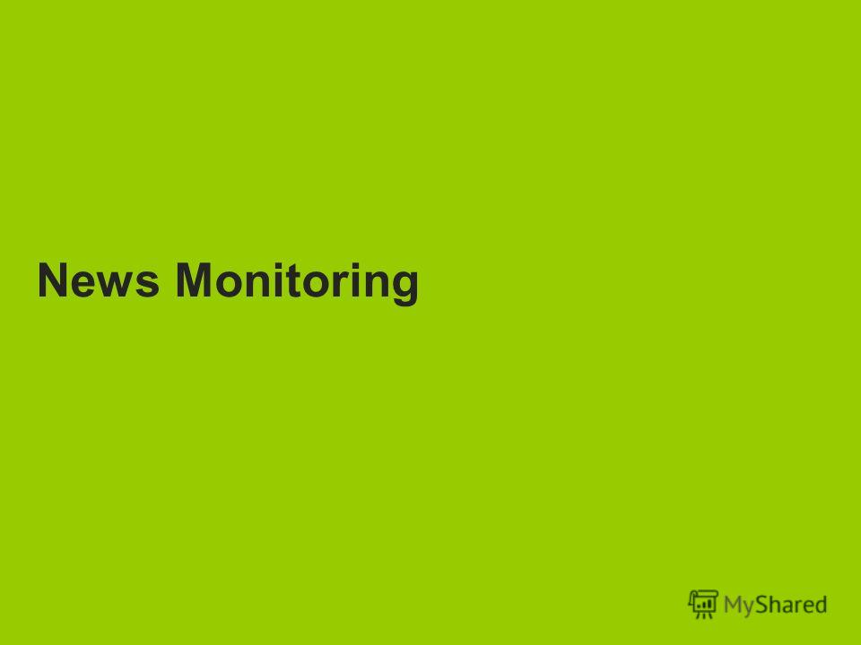 TNS Media Intelligence News Monitoring
