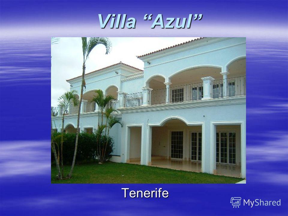 Villa Azul Tenerife
