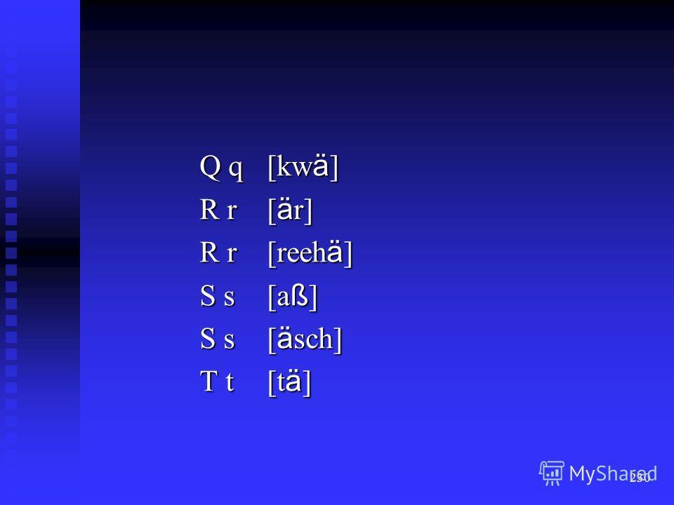 229 K k[ka] L l[äl] M m[am] N n[an] O o [o] P p [pä]