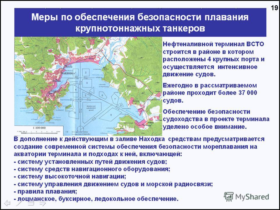 Часть 3. Характеристики нефтеналивных терминалов ДВ бассейне и перспектива их развития Часть 2. Характеристики нефтеналивных терминалов ДВ бассейне и перспектива их развития 19