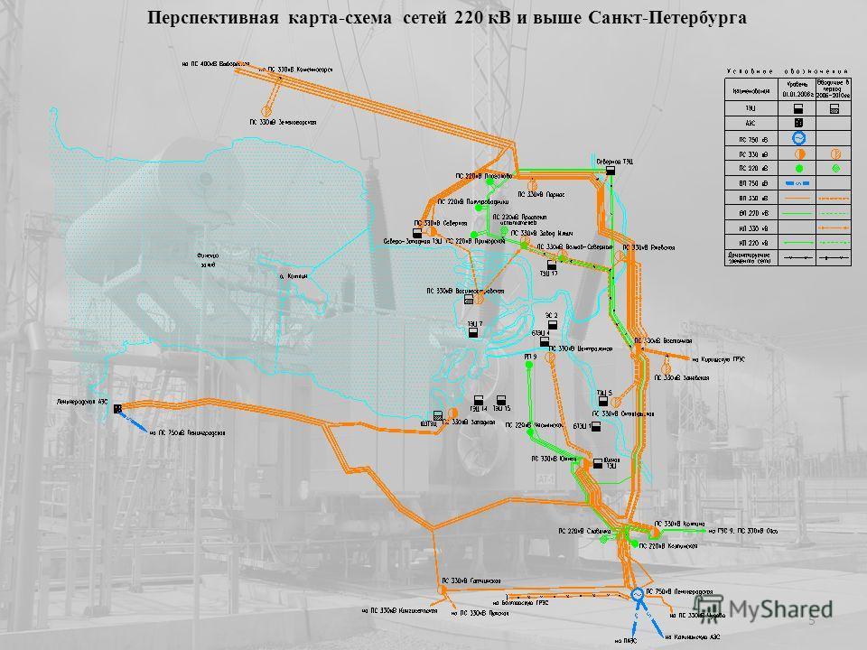 Перспективная карта-схема