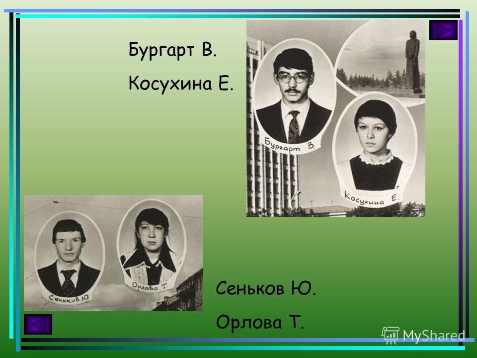 Зюзько Э. Шаталова Е. Свинкин С. Кондратьева Ж.