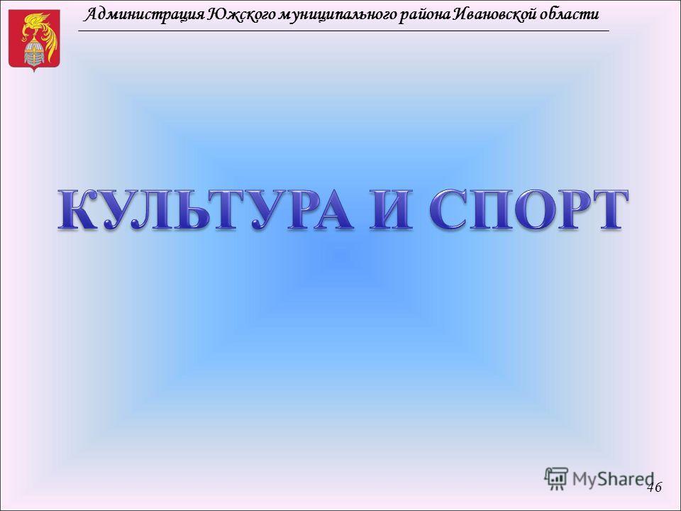 Администрация Южского муниципального района Ивановской области 46