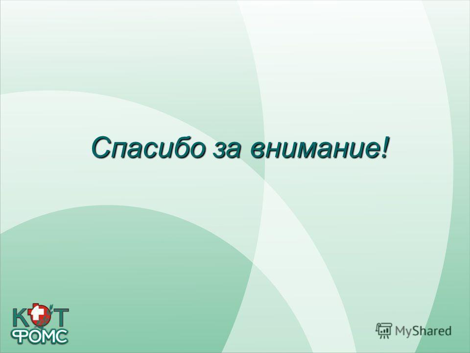 Здравоохранение Кировской области Спасибо за внимание!