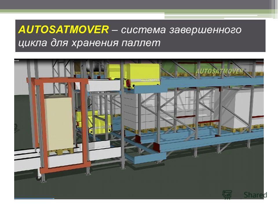 AUTOSATMOVER – система завершенного цикла для хранения паллет