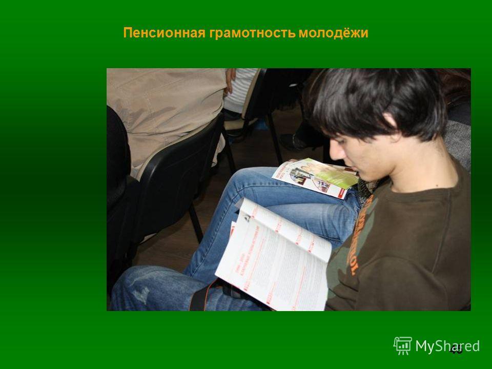 45 Пенсионная грамотность молодёжи