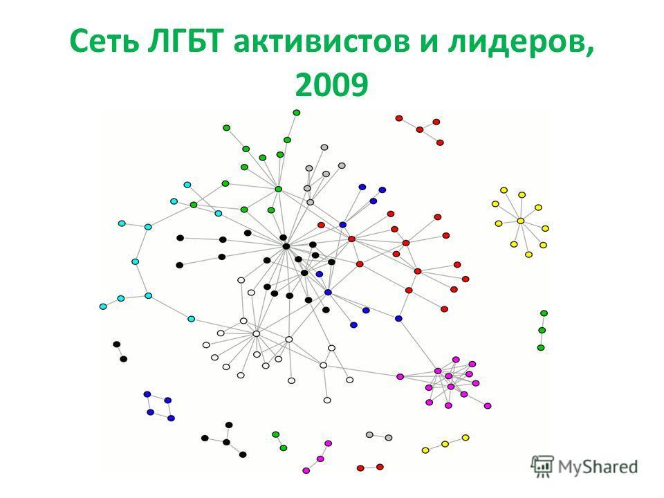 Сеть ЛГБТ активистов и лидеров, 2009