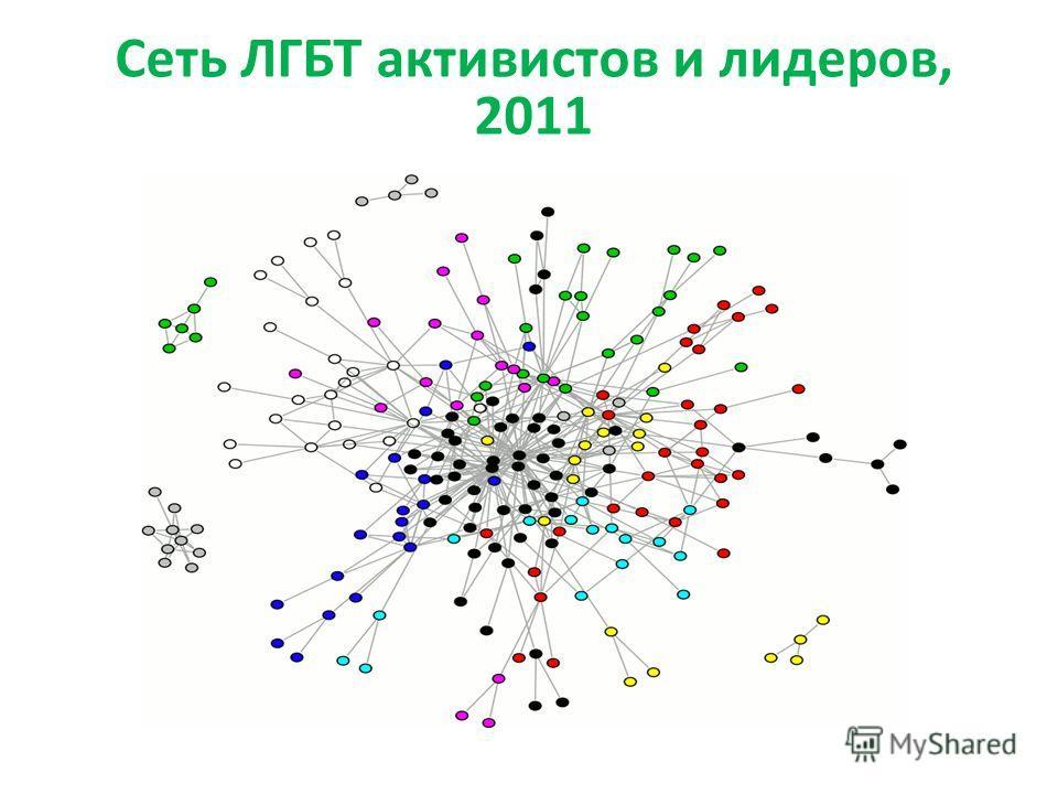 Сеть ЛГБТ активистов и лидеров, 2011