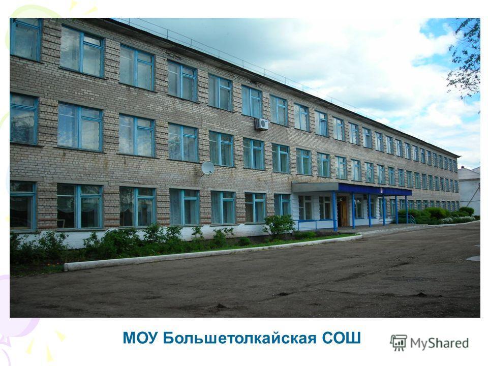 МОУ Большетолкайская СОШ