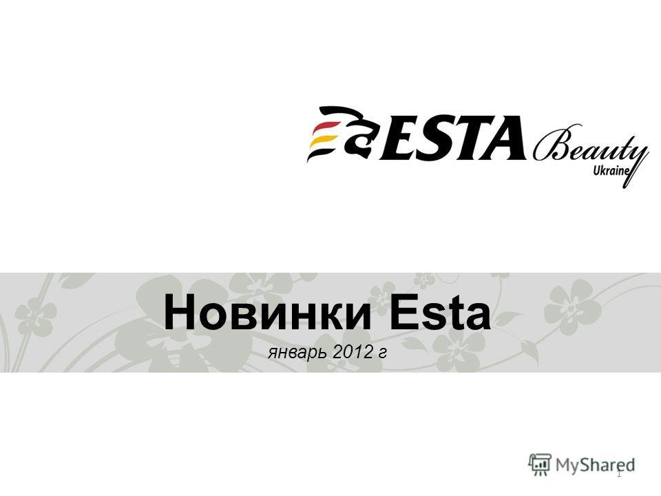 1 Новинки Esta январь 2012 г