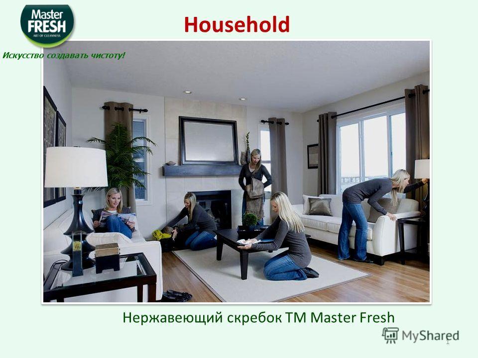 Нержавеющий скребок TM Master Fresh Household Искусство создавать чистоту! 1