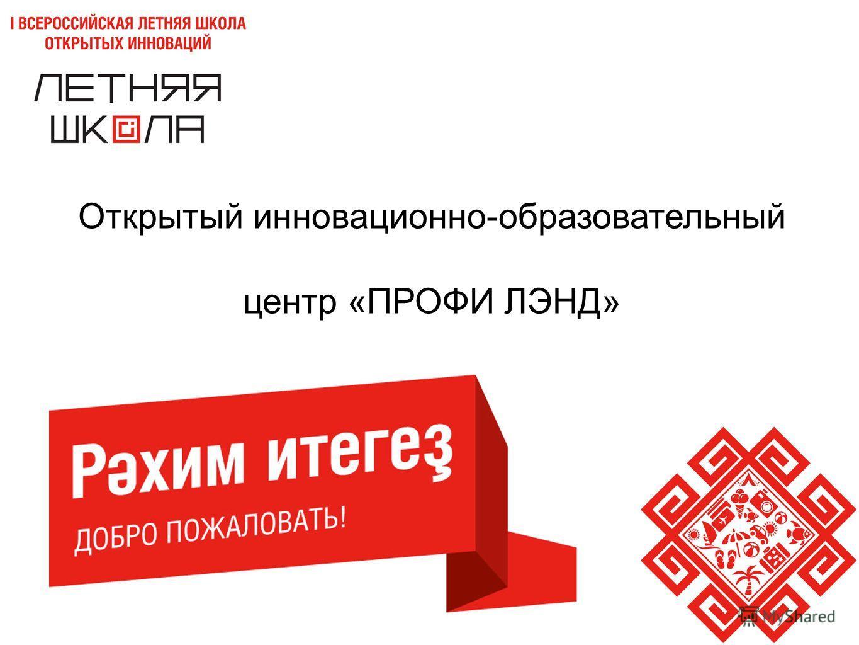 Открытый инновационно-образовательный центр «ПРОФИ ЛЭНД»