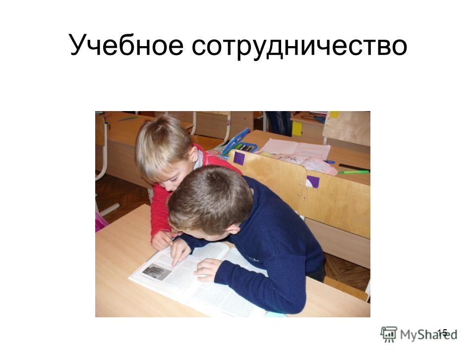 Учебное сотрудничество 15