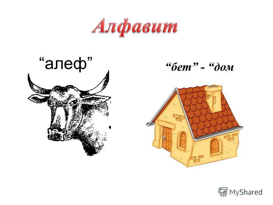 бет - дом алеф