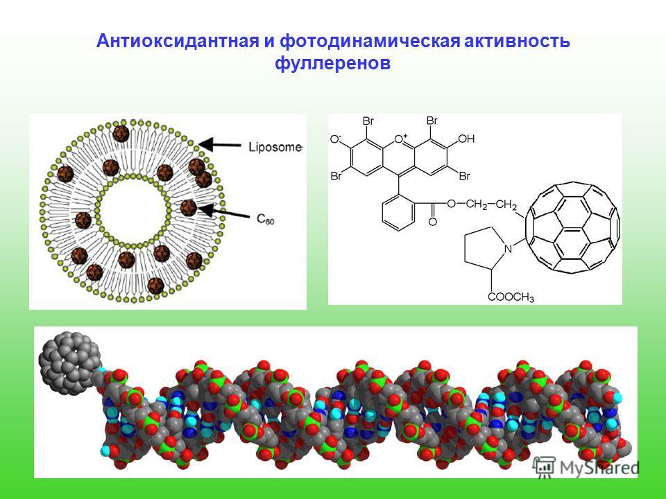Антиоксидантная и фотодинамическая активность фуллеренов