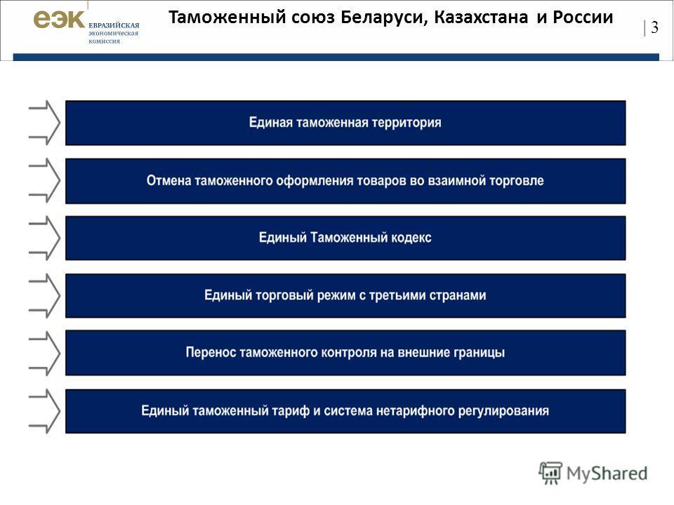 Таможенный союз Беларуси, Казахстана и России | 3