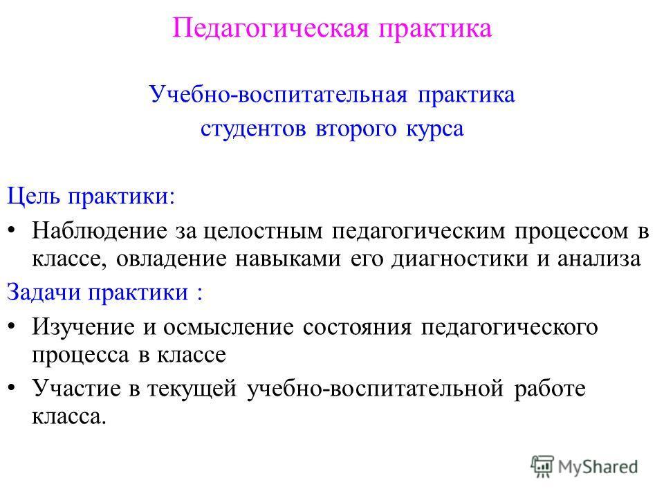 Презентация на тему ПЕДАГОГИЧЕСКАЯ ПРАКТИКА В ШКОЛЕ  3 Педагогическая