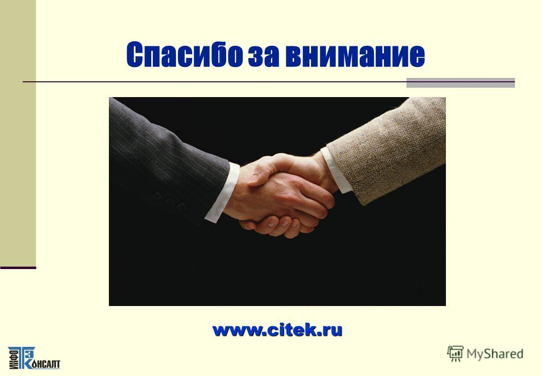 Спасибо за внимание www.citek.ru