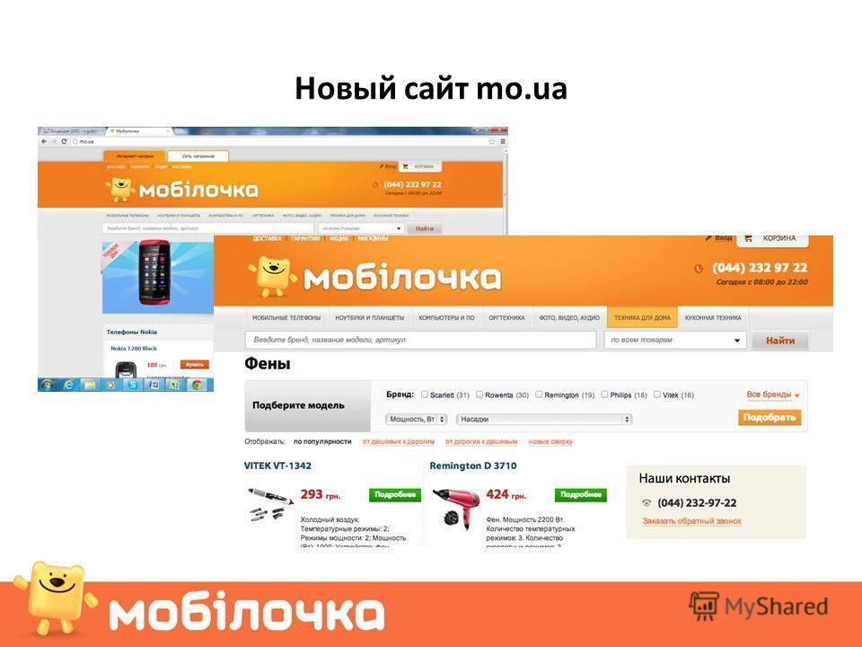 Новый сайт mo.ua