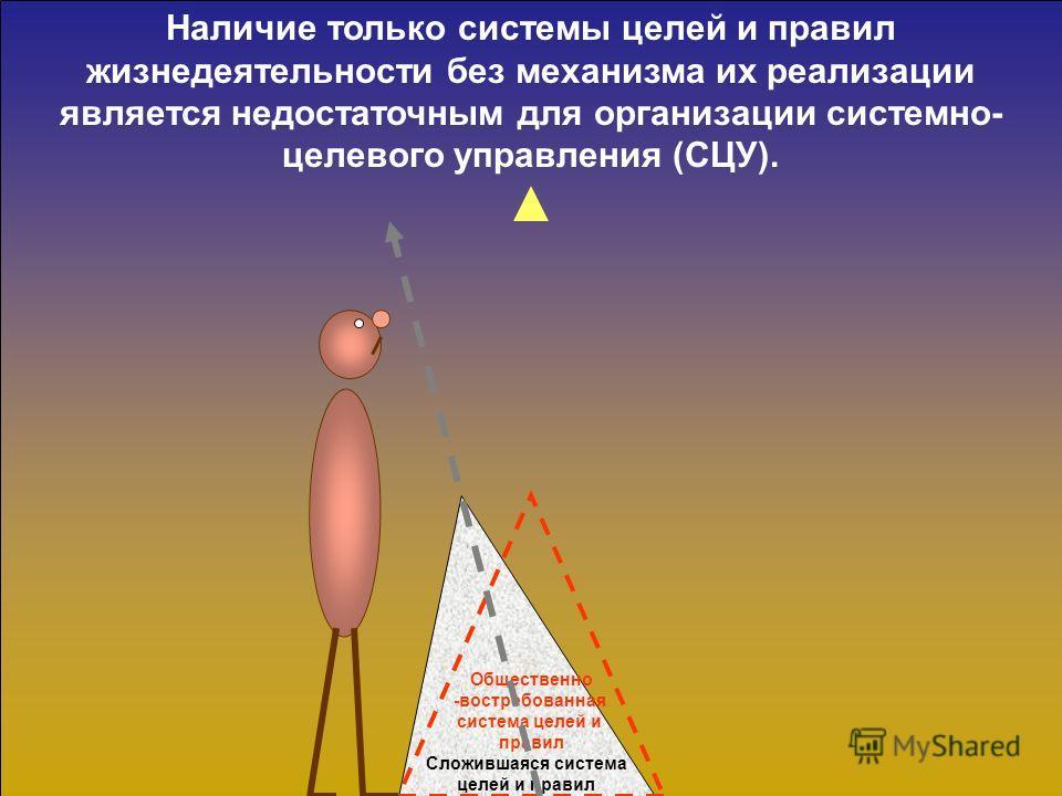 3. Механизм реализации системно- целевого метода управления