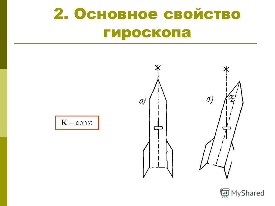 2. Основное свойство гироскопа