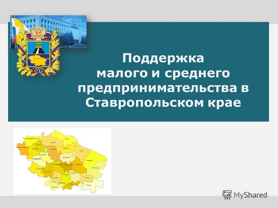 Поддержка малого и среднего предпринимательства в Ставропольском крае