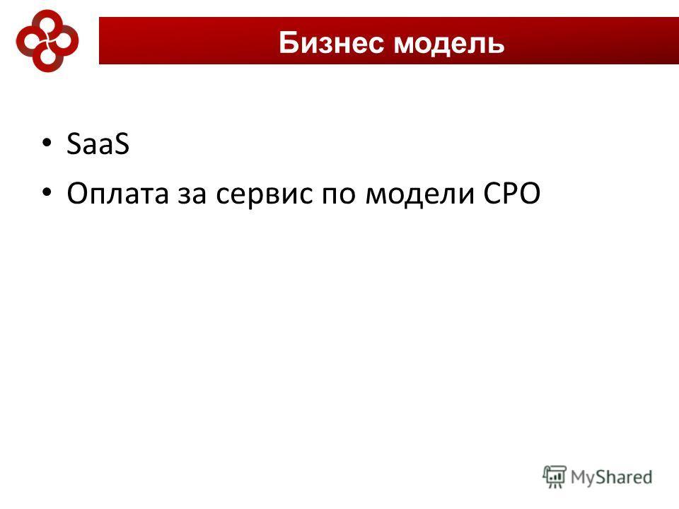 SaaS Оплата за сервис по модели CPO Бизнес модель