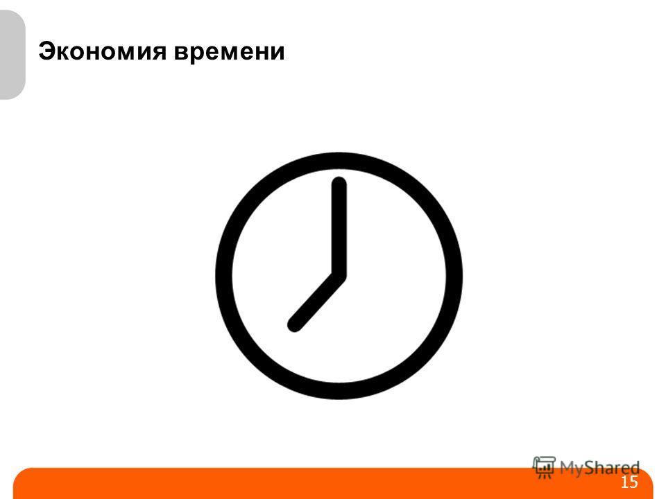 Экономия времени 15