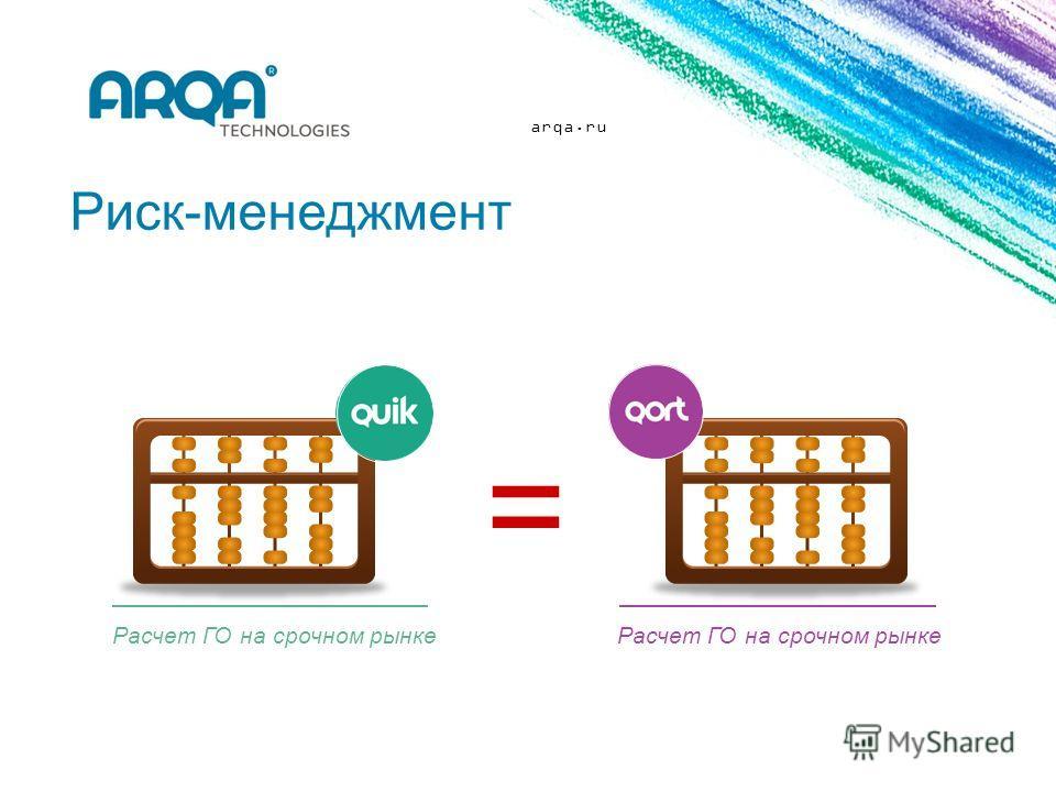 arqa.ru Риск-менеджмент Расчет ГО на срочном рынке =