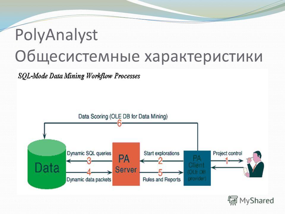 PolyAnalyst Общесистемные характеристики