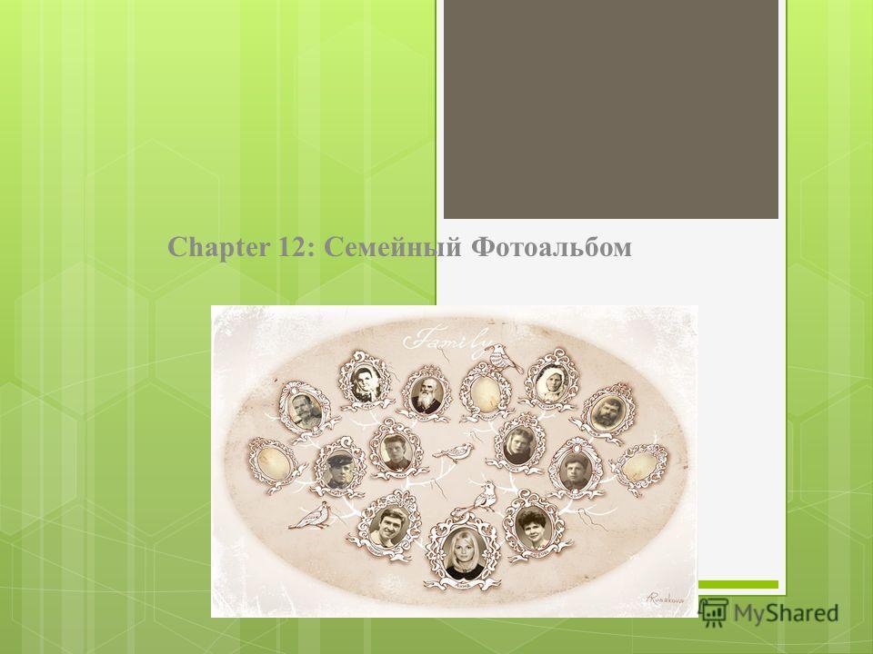 Chapter 12: Семейный Фотоальбом