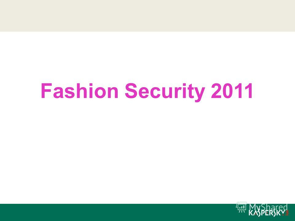 Fashion Security 2011