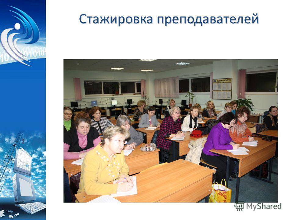 Стажировка преподавателей