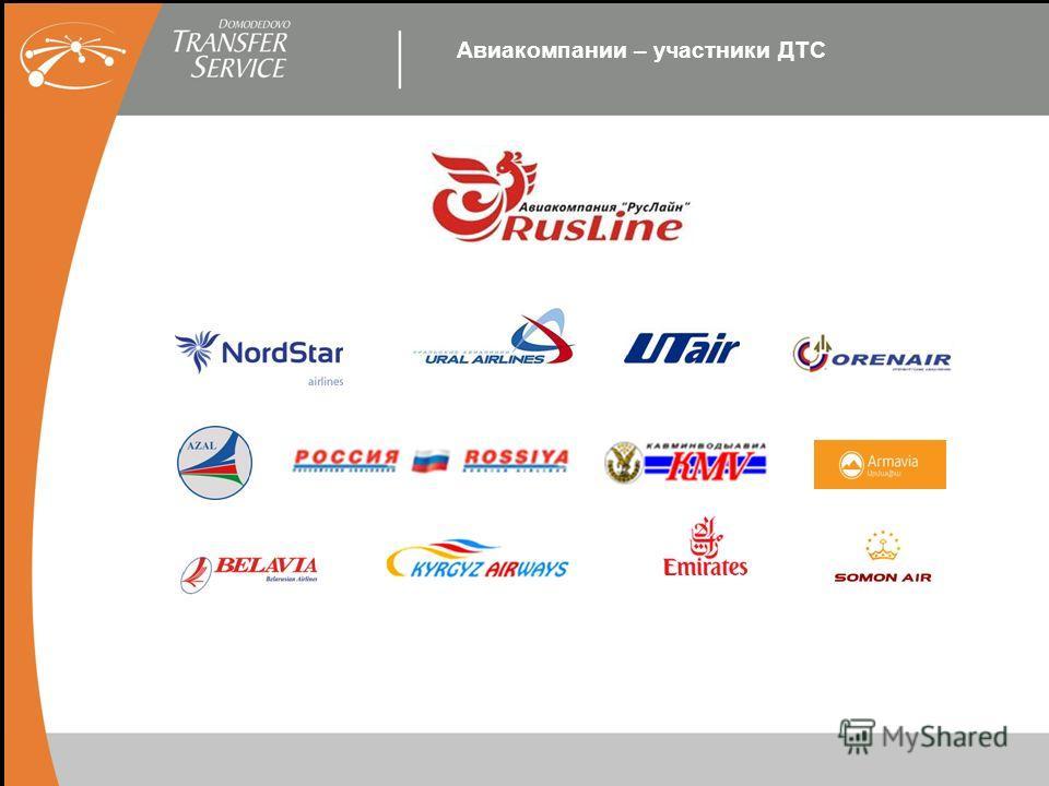Авиакомпании – участники ДТС