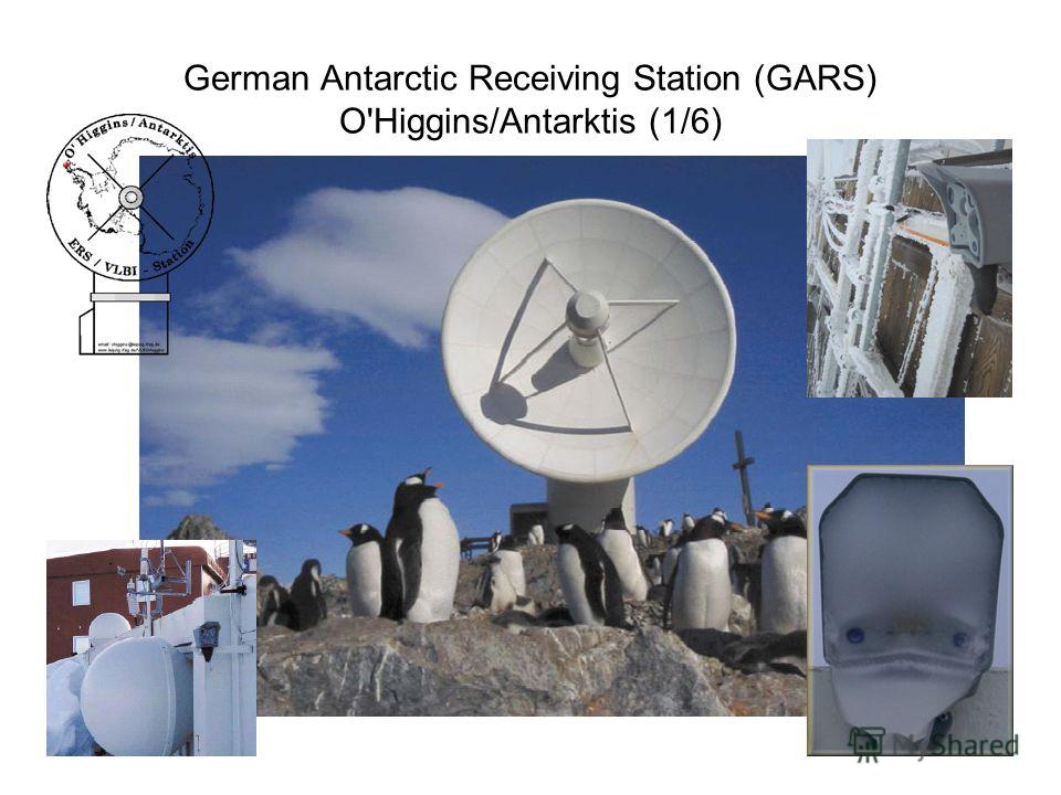 German Antarctic Receiving Station (GARS) O'Higgins/Antarktis (1/6)