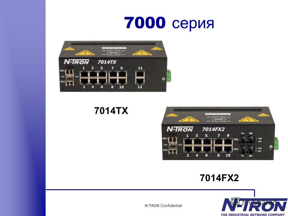 N-TRON Confidential 7000 серия 7014TX 7014FX2