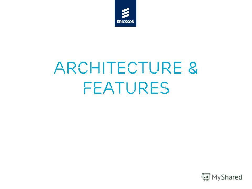 Slide title minimum 48 pt Slide subtitle minimum 30 pt Architecture & features